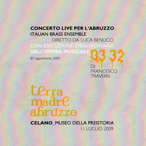 Concerto Live per l'Abruzzo - terra madre abruzzo